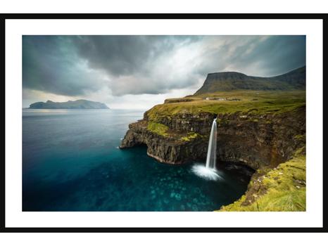Faroe Islands Waterfall by Chris Burkard