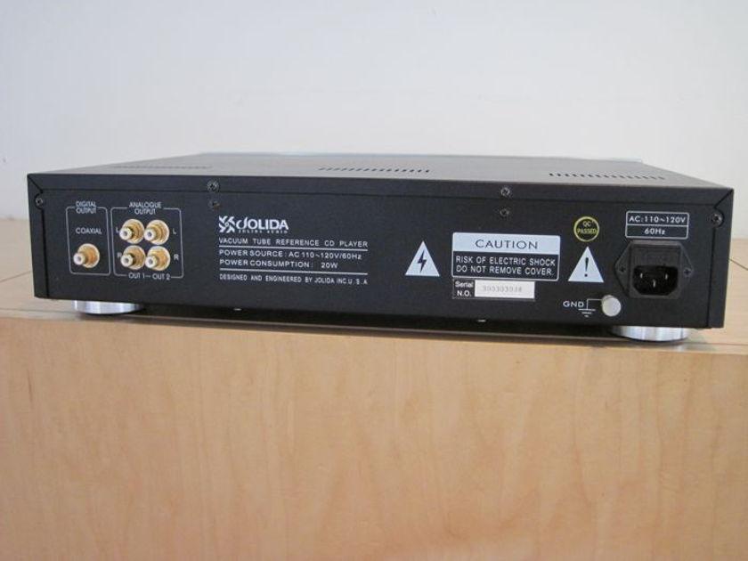 Jolida JD 100A Vacuum Tube CD Player