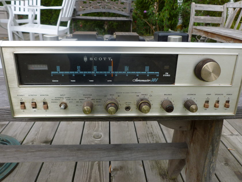 Scott 340B StereoMaster                     without tubes.  for restoration