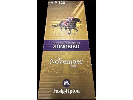 Songbird Fasig-Tipton Sales Banner