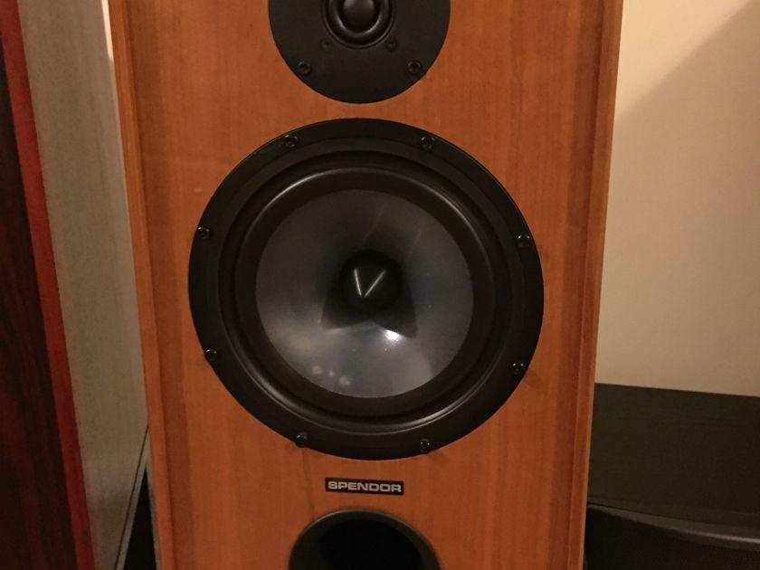 Spendor SP-2.3 R2 Loudspeakers in Cherry w/Stands