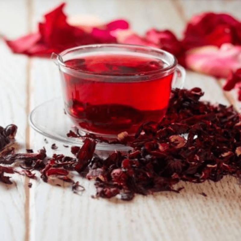 thé hibiscus