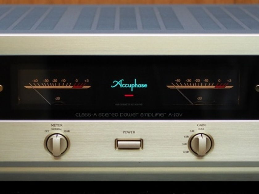 Accuphase A20V Class-A power amplifier