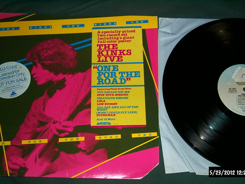The kinks - One For The Road 2 lp nm