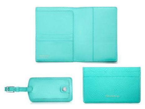 Tiffany's Tiffany Blue Travel Package (Luggage Tag, Passport Cover, & Card Case)