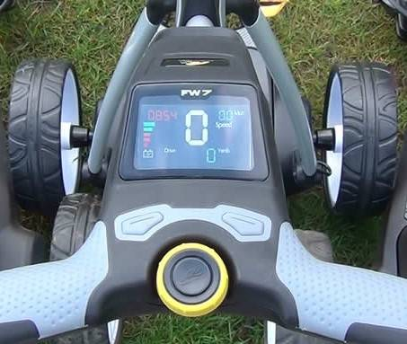 Electric Buggy Display Screen