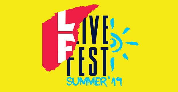 «Новое Радио» отправляет слушателей на фестиваль LiveFest Summer 2019 - Новости радио OnAir.ru