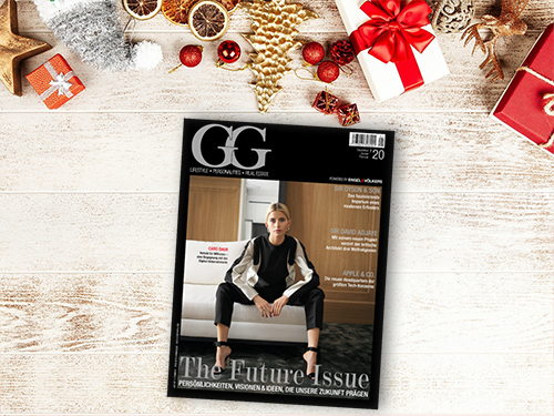 The new GG Magazine takes a look into the future