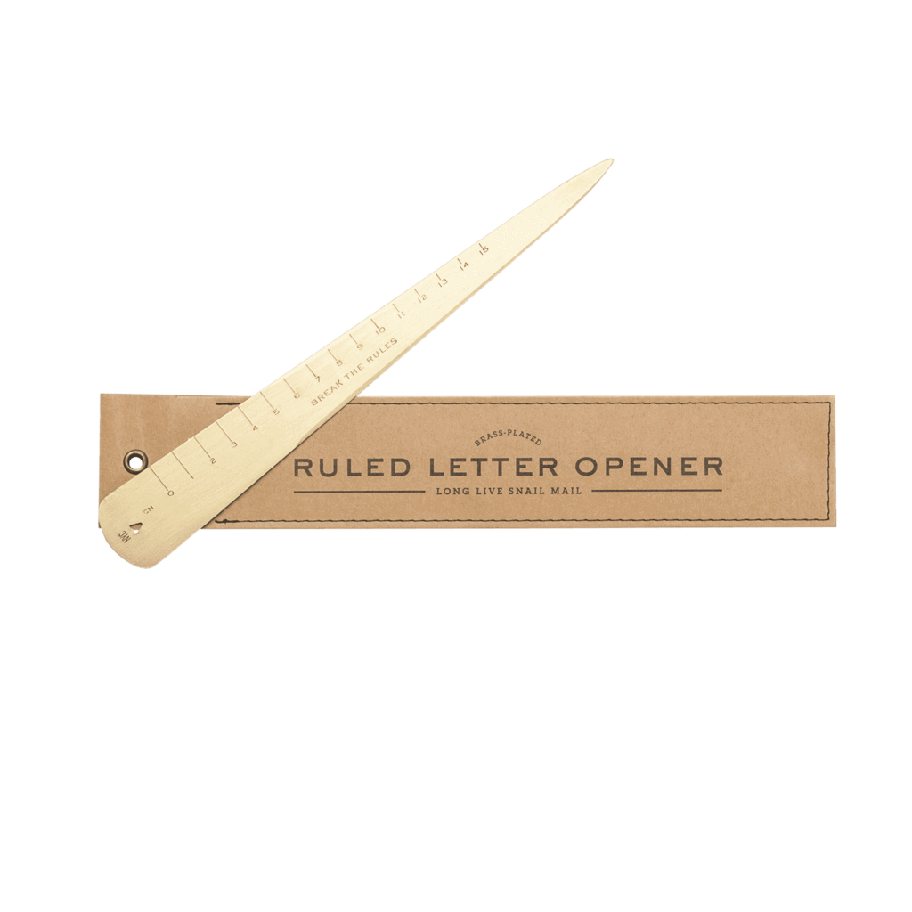Brass Letter Opener | Job Promotion Gifts For Men