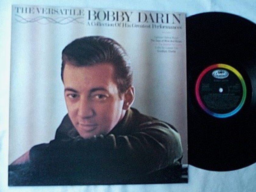 Bobby Darin Lp-The - versatile-rare album -england made