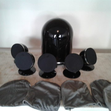 Dome sub/sat system