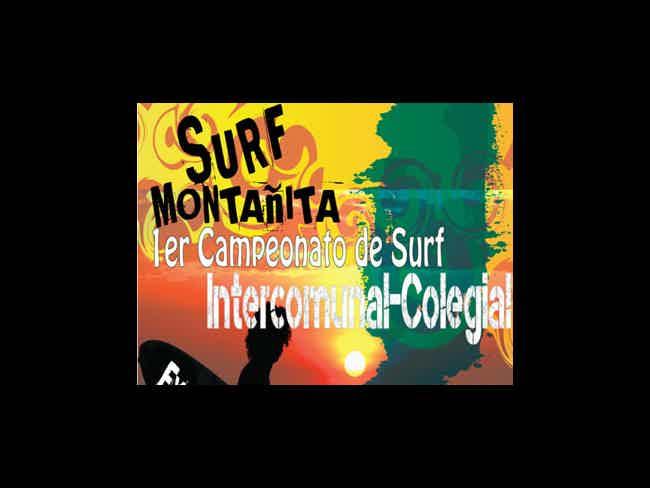 1er Campeonato de Surf Intercomunal-Colegial Montañita 2014-Montañita