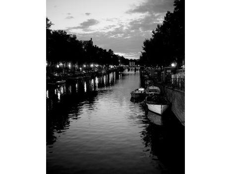"""Serene Canal"" -Framed 8X10 Photograph"