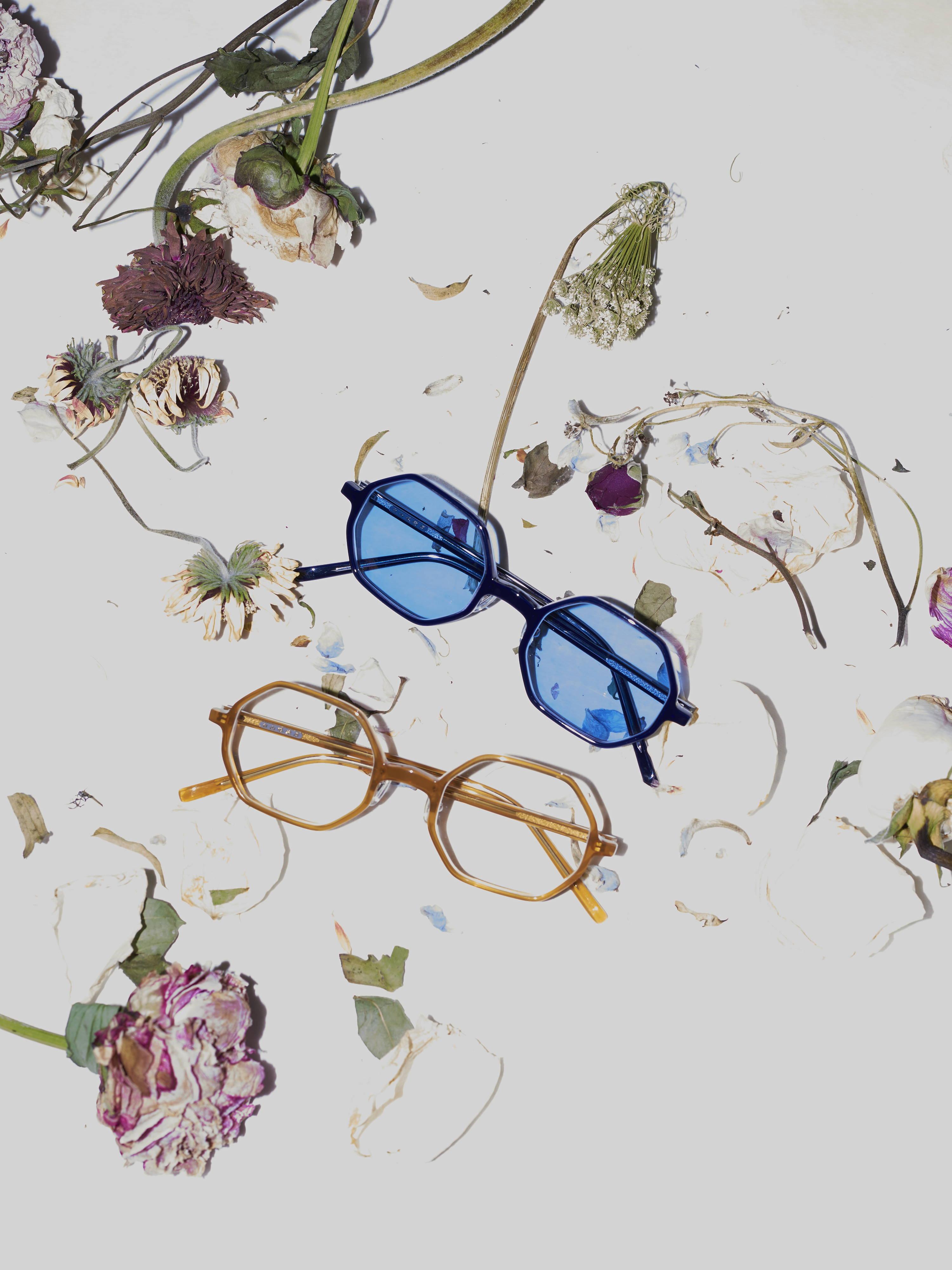 h lorenzo- hakusan octagon glasses
