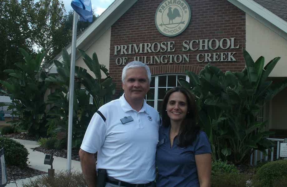 Franchise Owners of Primrose School Ed and Marta Guevara