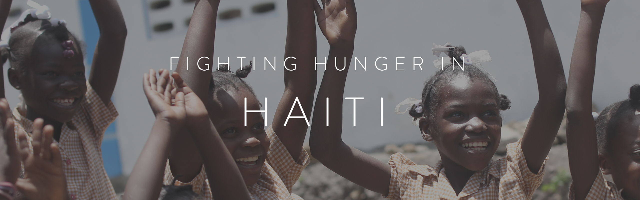 HALF UNITED Fighting Hunger In Haiti