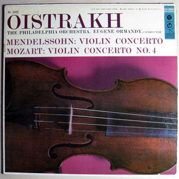 Mendelssohn / Mozart – Violin Concerto