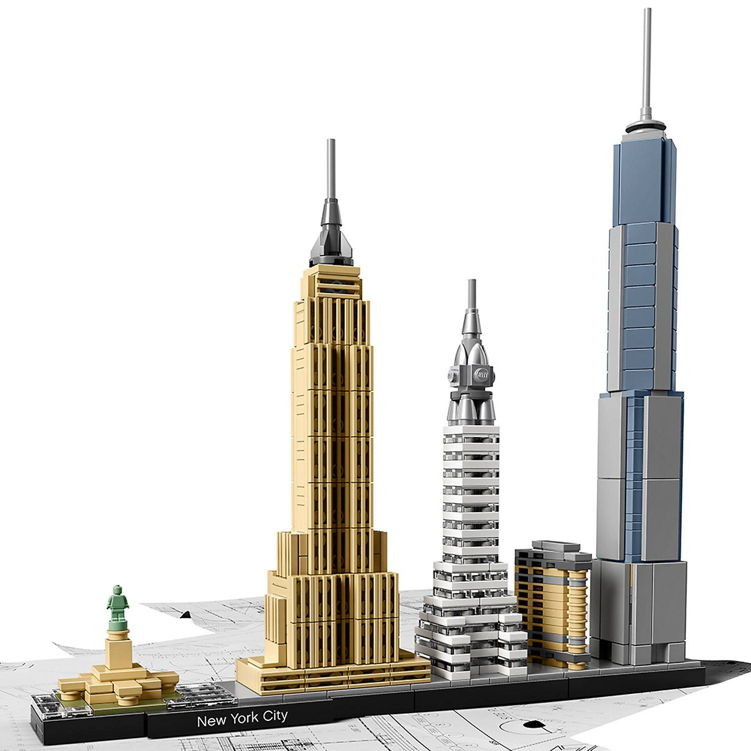 LEGO New York City architecture 21028