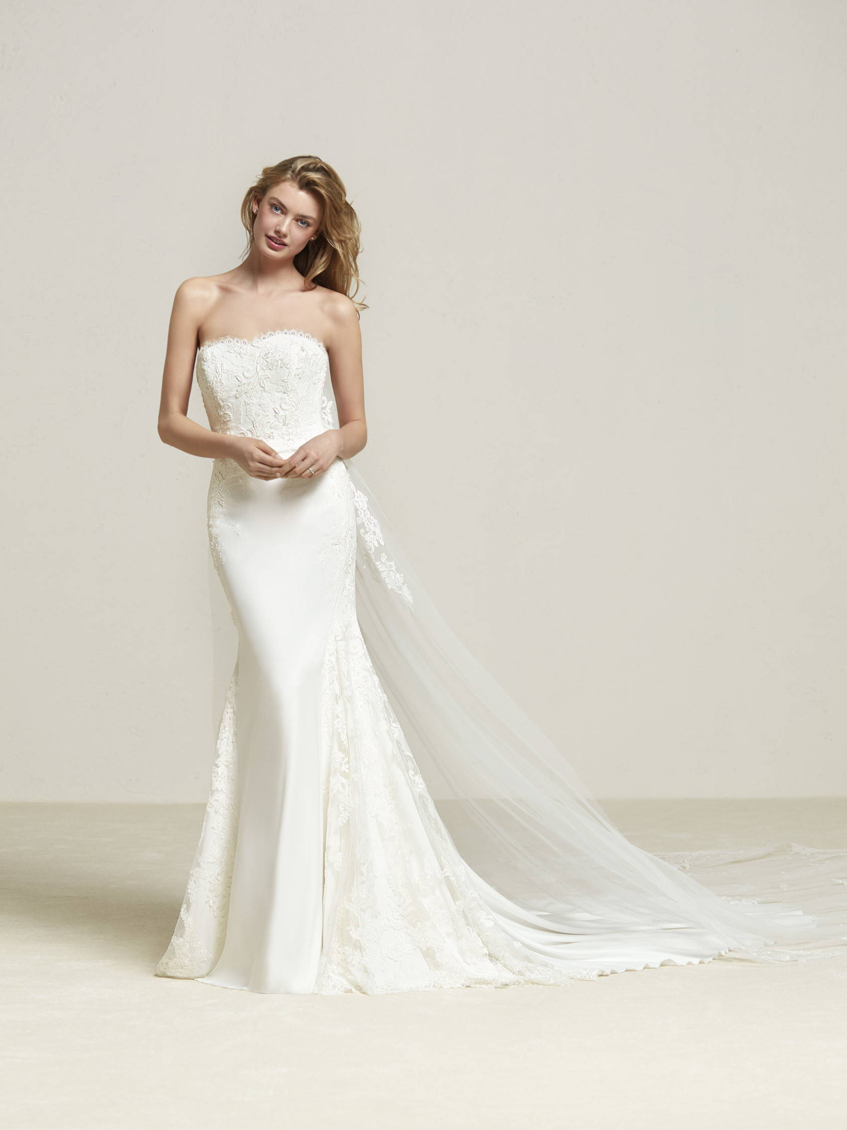 PRONOVIAS DRENIBI WEDDING DRESS