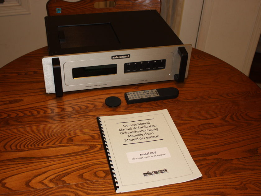 Audio Research CD3 MkII