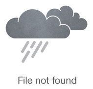 "Кружка из фарфора ""It's tea time"" розового цвета"