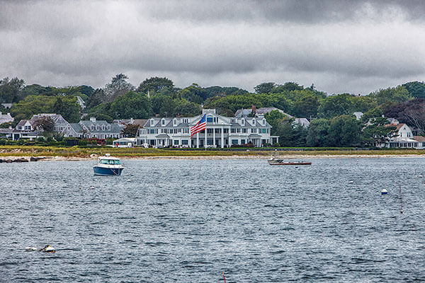 A View of Hyannisport from the Water