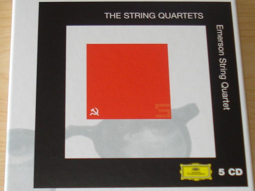Emerson String Quartet - Shostakovitch The String Quartets 5 CD Boxed Set DG