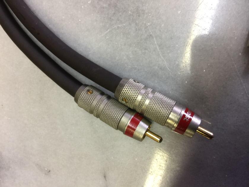 AudioQuest Topaz 2 RCA Interconnects - (0.5) meter pair
