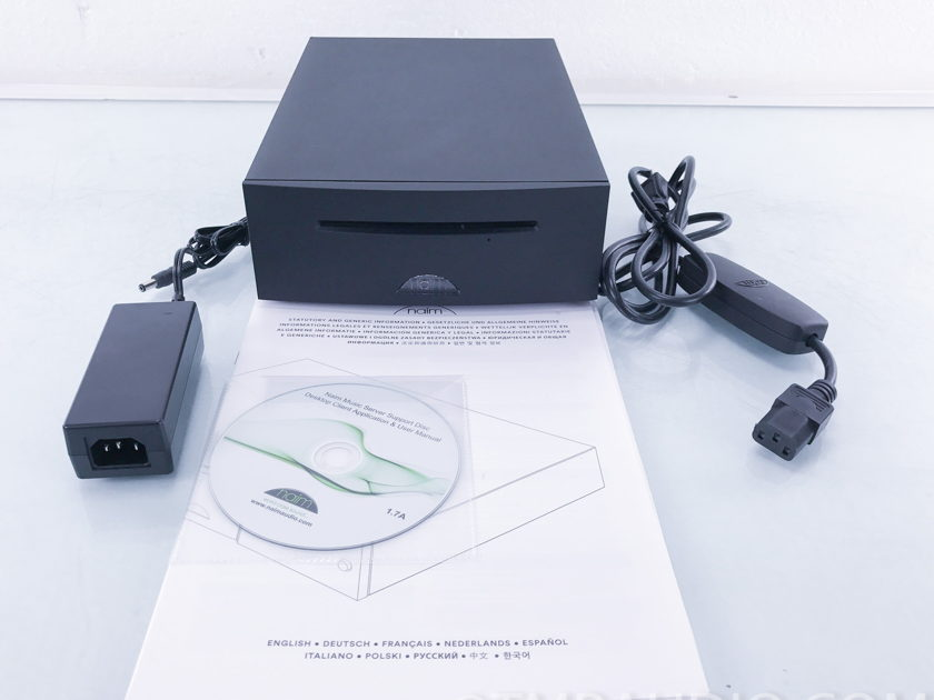 Naim UnitiServe CD Ripper/Hard Disc Player / Server; 2TB (1875)