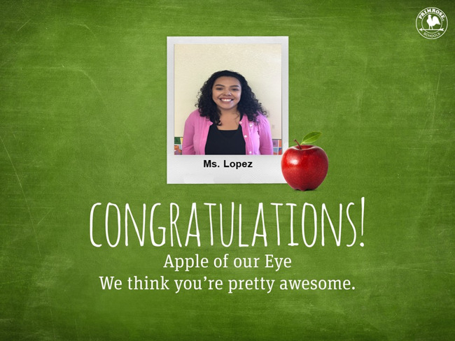 Apple of our eye!