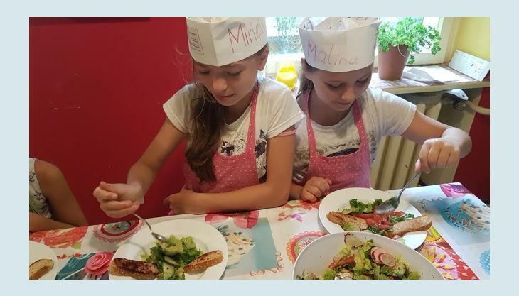 kinder kochschule essen genießen