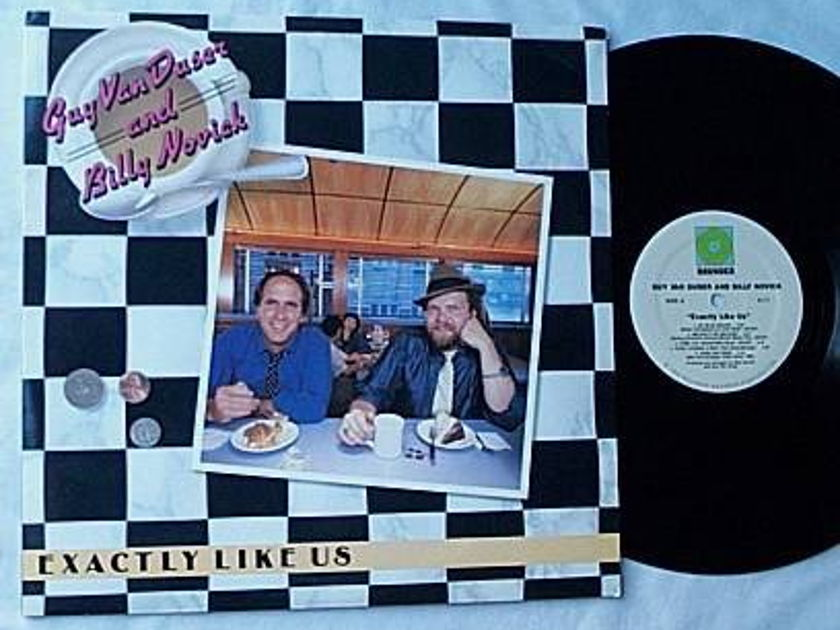 Guy Van Duser Lp- - Exactly like us- superb rounder album