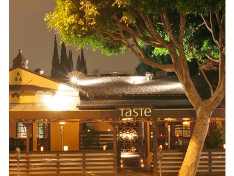 Dinner at Taste on Melrose