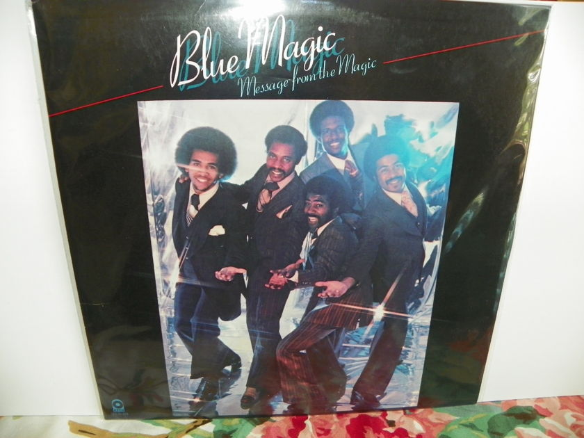 BLUE MAGIC - MESSAGE FROM THE MAGIC Rare LP NM Pressing/