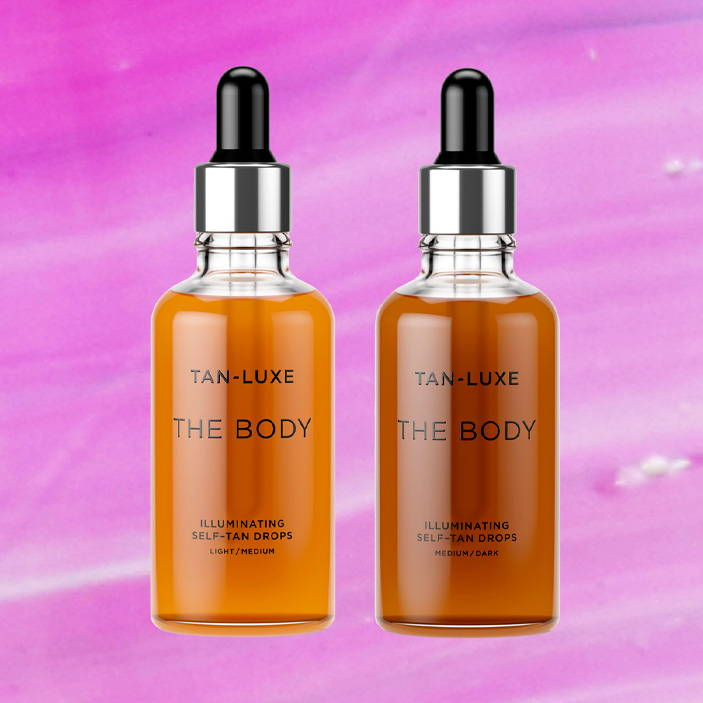 TAN-LUXE The BODY Illuminating Self-Tan Drops Light/Medium or Medium/Dark