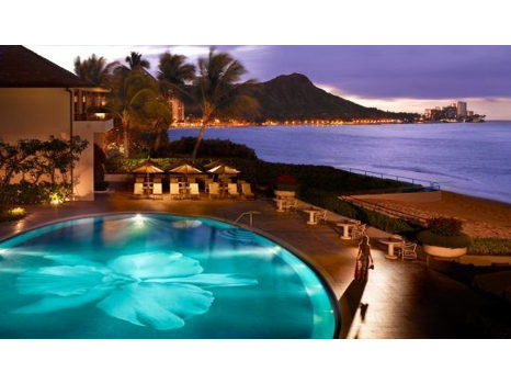 Halekulani - Two (2) Nights Oceanfront Accommodation for two and Breakfast