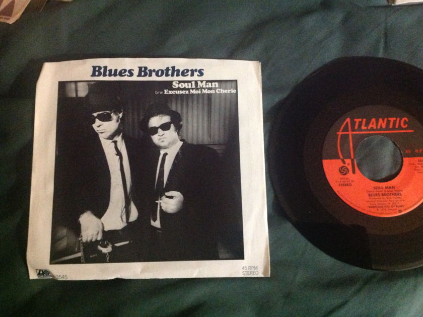 Blues Brothers - Soul Man 45 With Sleeve