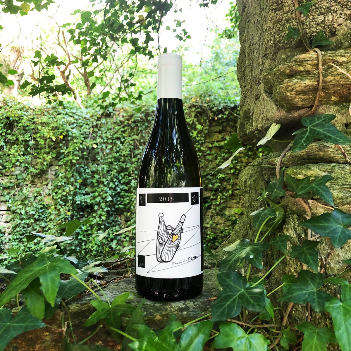France, vin nature, rawwine, organic wine, vin bio, vin sans intrants, bistro brute, vin rouge, vin blanc, rouge, blanc, nature, vin propre, vigneron, vigneron indépendant, domaine bio, biodynamie, vigneron nature, cave vin naturel, cave vin, caviste, vin biodynamique, bistro brute, Quimper, Finistère , languedoc, christophe peyrus, clos des reboussiers, pic saint loup, blanc vdf 2018, carignan, grenache