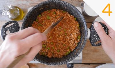 Il condimento - Ricetta per arancini al ragù classici