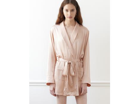 Madeline Silk Robe by Araks