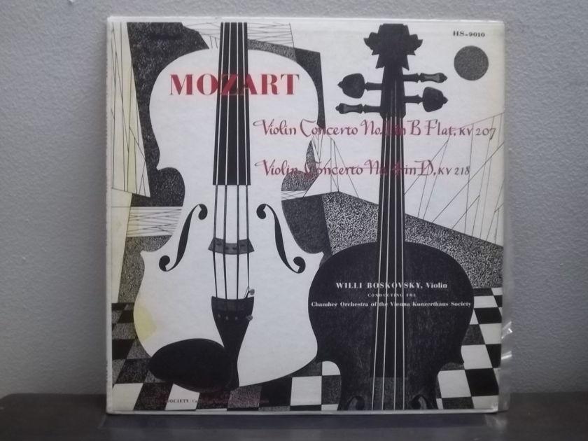 Willi Boskovsky  - Mozart Violin Concerto