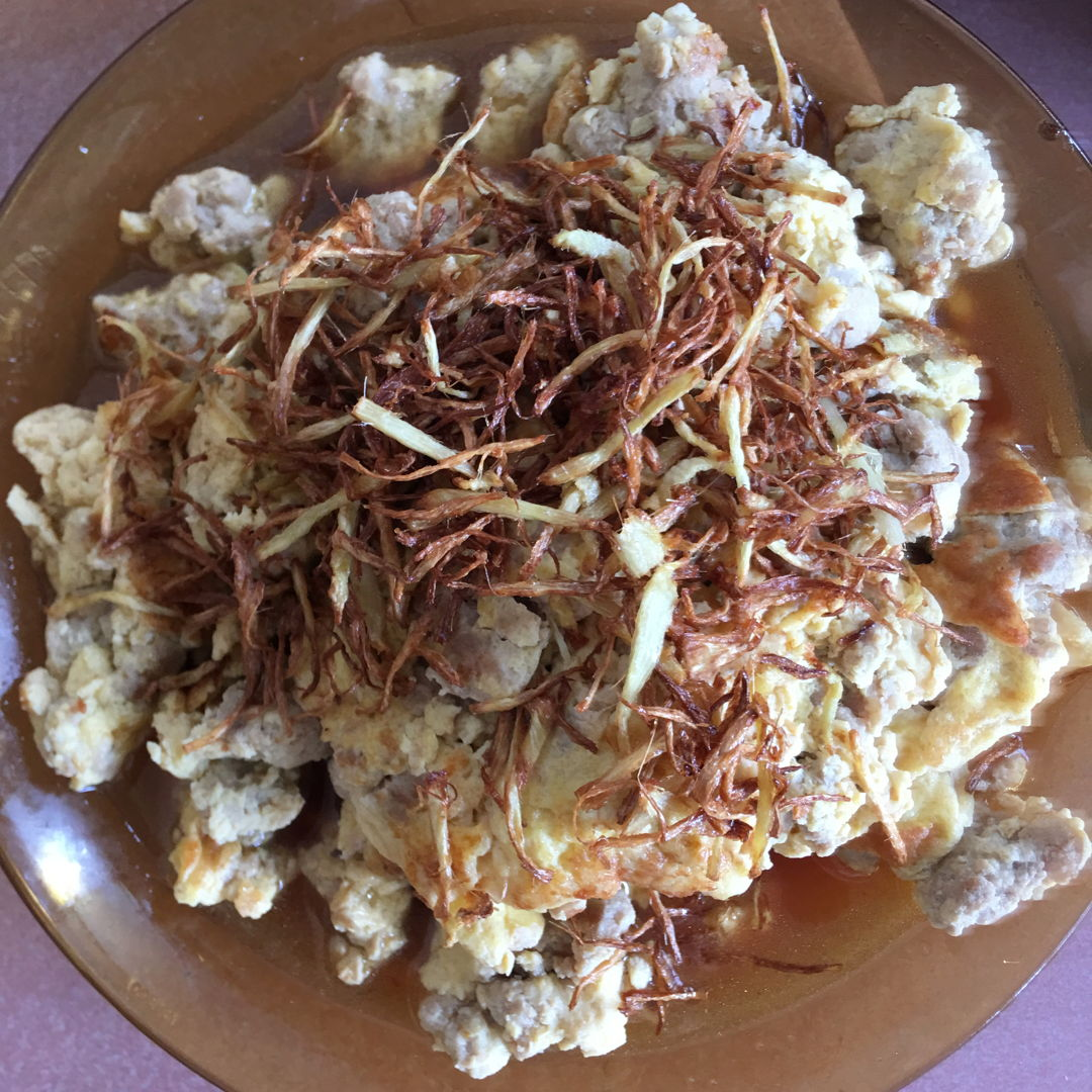Jun 7th, 20 - Minced Pork with eggs