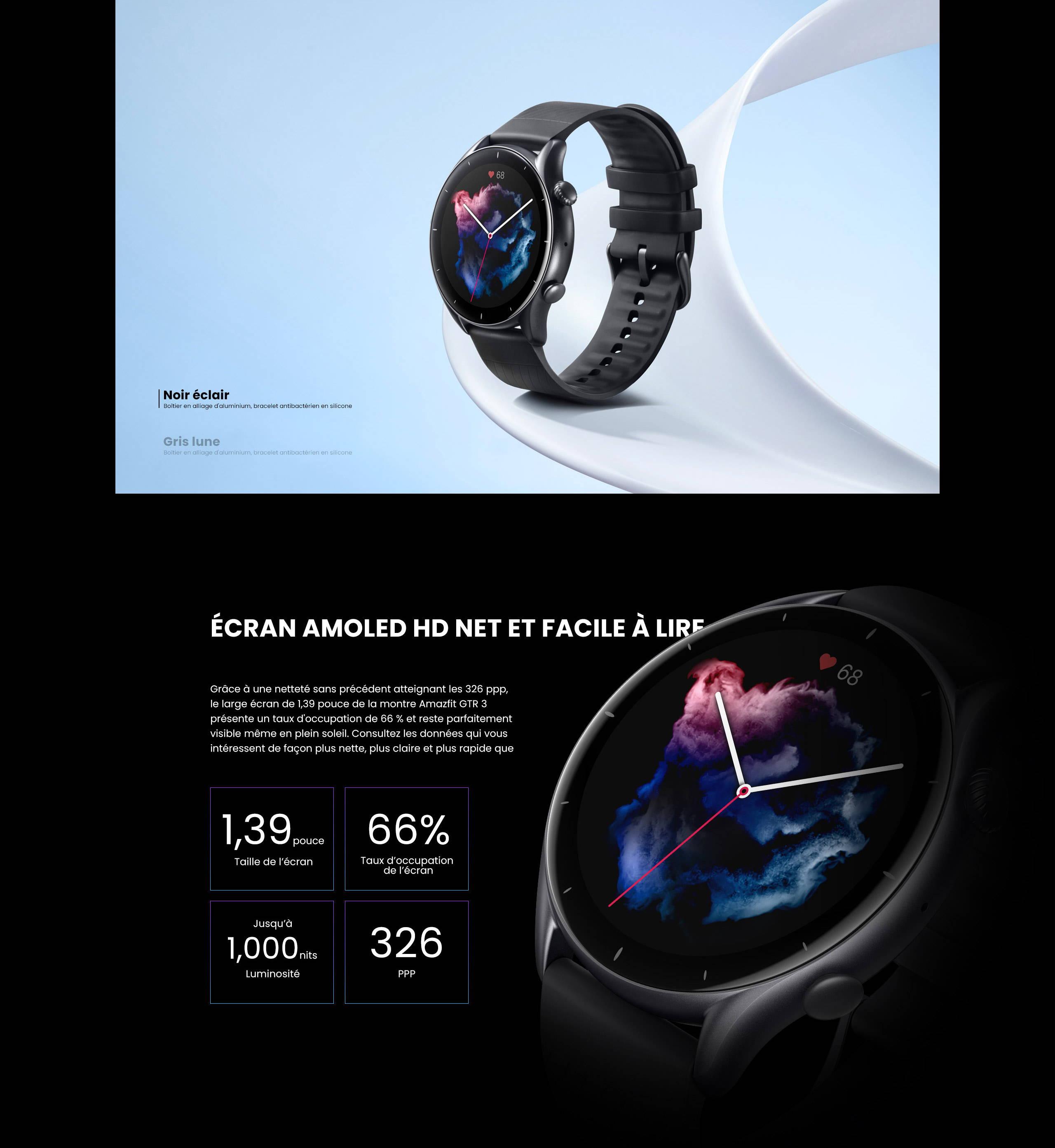 Amazfit T-Rex Pro - Robuste à l'intérieur comme à l'extérieur:La montre Amazfit T-Rex Pro est une combinaison titanesque de praticité, de solidité et de confort.