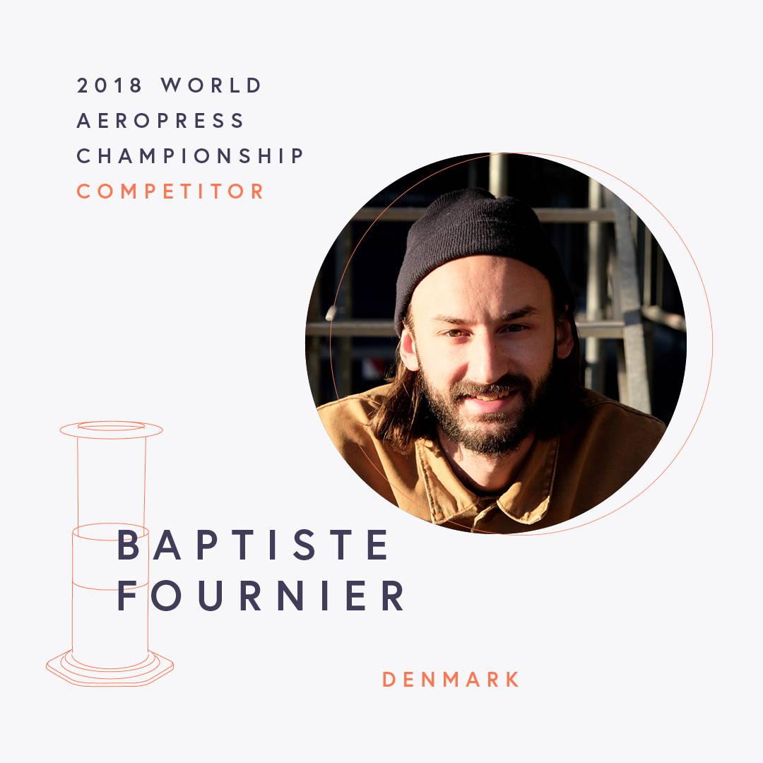 The World AeroPress Championships: Baptiste Fournier