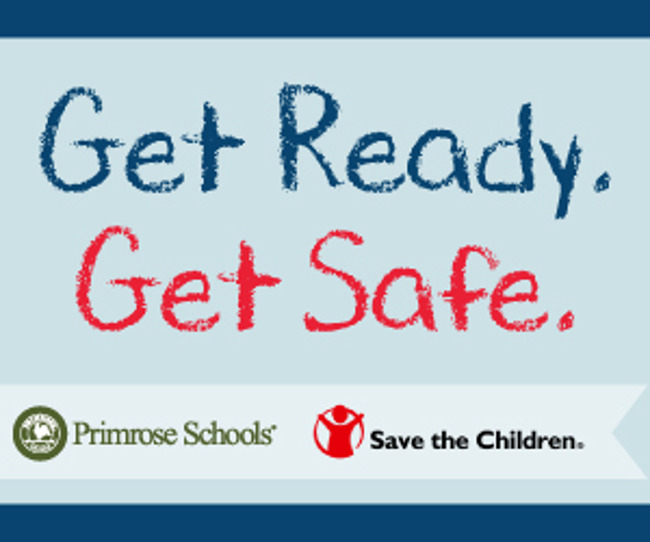Get ready, get safe logo