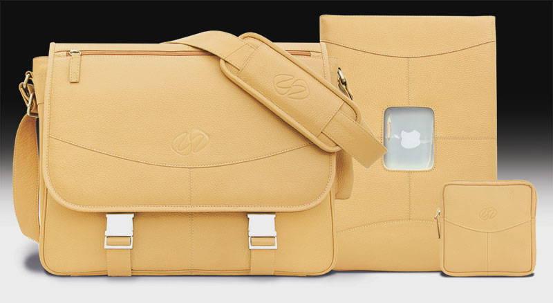MacCase Premium Leather Messenger Bag