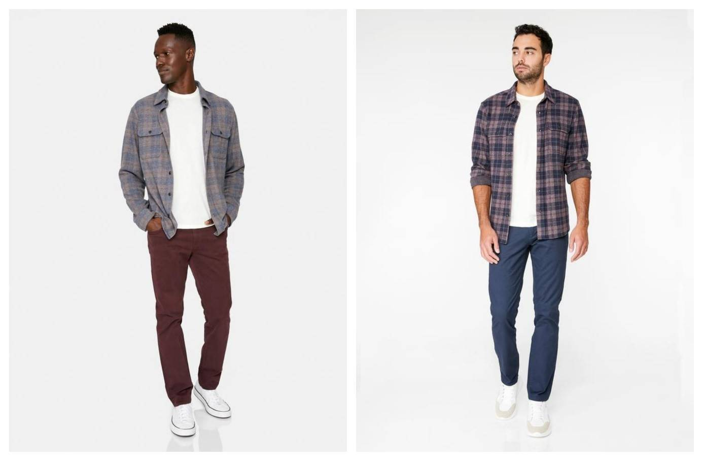 Atlas Sweater Flannel Shirt Jacket