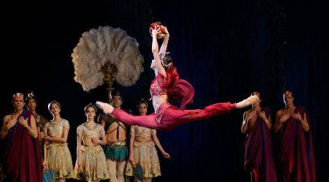 anna ol, principal dancer with the dutch national ballet