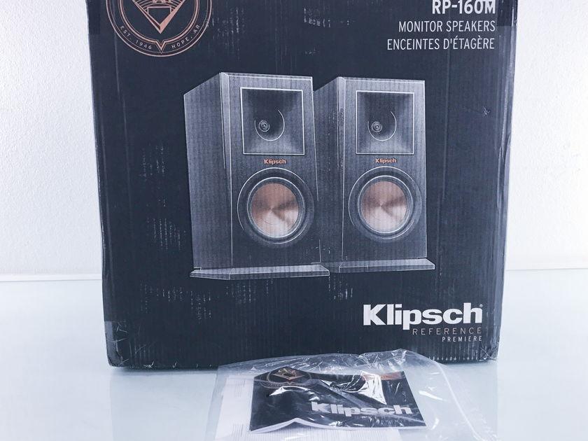 Klipsch  RP-160M Bookshelf Speakers; Pair (2605)
