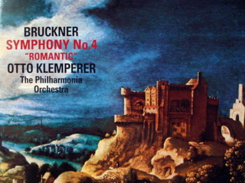 ★Audiophile 180g★ EMI-Testament / KLEMPERER, - Bruckner Symphony No.4, MINT(OOP)!